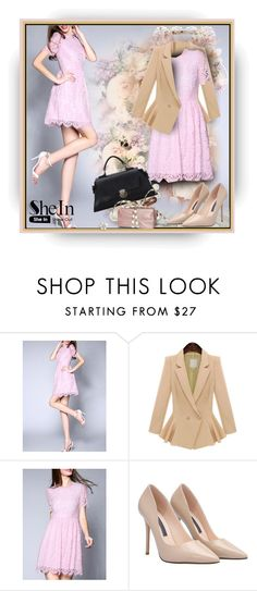 """""""SheIn.com 2/6"""" by bebushkaj ❤ liked on Polyvore featuring women's clothing, women's fashion, women, female, woman, misses and juniors"""