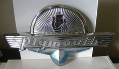 CHRYSLER PLYMOUTH CAR BADGE Auto Logos, Car Logos, Plymouth Cars, Car Ornaments, Car Badges, Car Brands, Mopar, Exotic Cars, Muscle Cars