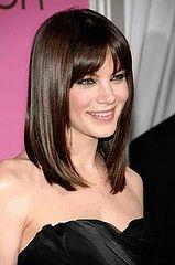 Michelle monaghan medium Haircut with bangs