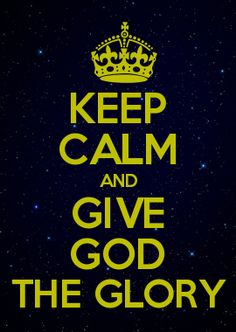 God is so good, I give him all the glory for I would be no wheres close to where I am today without HIM! Praise God!!!
