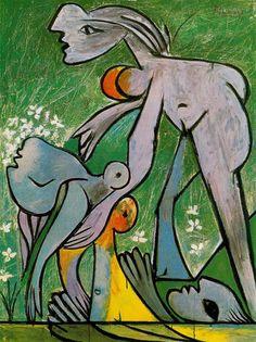 The rescue, 1932, Pablo Picasso Size: 130x97 cm Medium: oil on canvas