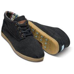 TOMS Edson Men's Botas ❤ liked on Polyvore
