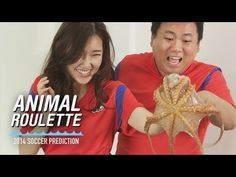 Animal Roulette. Ep.1 Korea VS Russia The life or death of the animal gets decided depending on its prediction. Animal Roulette!    Anna YouTube URL http://www.youtube.com/user/AnutkaUpss
