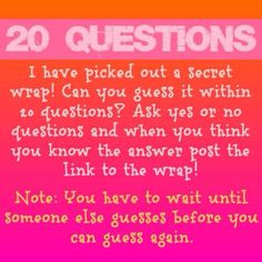 Jamberry 20 questions game 20 Questions Game, Question Game, Yes Or No Questions, Jamberry Nails Tips, Jamberry Games, Direct Sales Games, Jamberry Business, Jam Games, Color Street