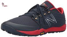 New Balance MT10BR4-Minimus, Chaussures de Trail Homme, Multicolore (Black/Red 009), 41.5 EU - Chaussures new balance (*Partner-Link)