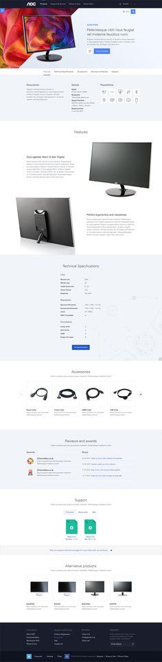 AOC Europe on Web Design Served