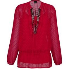 Amy Vermont, Bluse mit Top, rot Amy Vermont