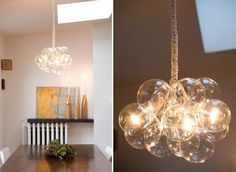 DIY Bubble Chandeliers by Jean Pelle — ReadyMade Magazine