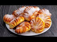 Annyira mutatós hogy sajnálom megenni! Tehéntúrós kiflicskék| Cookrate - Magyarország - YouTube Kefir, French Toast, Picnic, Cheesecake, Food And Drink, Vegetarian, Bread, Cookies, Breakfast