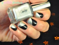 New year nails //  Version argent