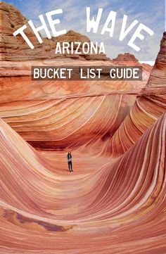 `The Wave` – Arizona, USA To preserve this natural beauty, only twenty hikers are allowed per day.
