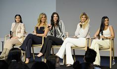 Kim, Khloé, Kendall, Kylie & Kourtney at the Apple Store in Soho, NYC - September 14, 2015