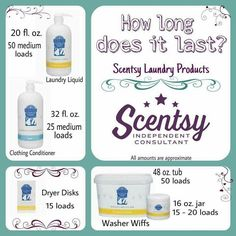 Ever wondered about Scentsy laundry products?? Here ya go!  Www.katiebutts.scentsy.us