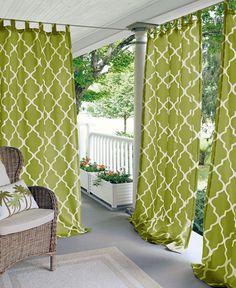 Indoor Outdoor, Outdoor Rooms, Outdoor Living, Outdoor Decor, Outdoor Curtains, My New Room, Backyard Patio, Patio Gazebo, Living Spaces