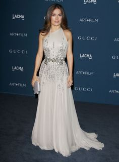 1. Salma Hayek At The LACMA 2013 Art + Film Gala In L.A. | The Most Fab And Drab Celebrity Outfits Of The Week