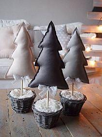 Stylowi.pl - Odkrywaj, kolekcjonuj, kupuj Christmas Craft Fair, Christmas Decorations, Xmas, Christmas Tree, Christmas Ideas, Fabric Tree, Ideas Para Fiestas, Merry And Bright, Craft Fairs