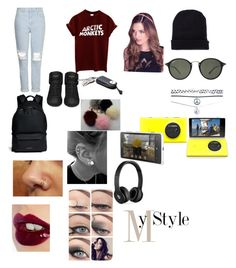 """Casual"" by tampatt ❤ liked on Polyvore featuring Yves Saint Laurent, Topshop, Givenchy, Bebe, Ray-Ban, Wet Seal, Charlotte Tilbury, Nokia and Beats by Dr. Dre"