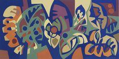 Artista franco-brasileiro exibe 32 pinturas e guaches em São Paulo Fashion Bubbles, Guache, Flat Color, Colour, Surface Pattern, Painting Inspiration, Zentangle, Contemporary Art, Design