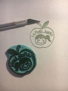 Sello personalizado, hecho a mano por Sweet Carving