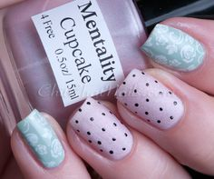 Pinned by www.SimpleNailArtTips.com STAMPING NAIL ART DESIGN IDEAS -  #nails #nailart #stamping - ChitChatNails » Blog Archive » Don't Judge a Book by its Cover, Cupcake!