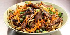 Korean Beef Udon Noodles