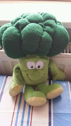 Co-op Goodness Gang, Bobby Broccoli Soft Plush Vegetable Soft Toy