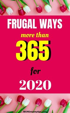 With more than 365 frugal ways to save, you'll never be short of saving ideas again! Have you tried #227?#frugal #frugallivingtips #frugaltips