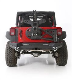 $409.75 Smittybilt XRC/SRC Gen2 Bolt-On Tire Carrier W/ FREE SHIPPING to the Lower 48 United States. #GetBigger