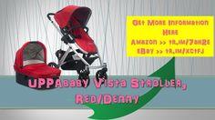 UPPAbaby Vista Stroller Red/Denny|uppababy vista|demo|double|cruz|2015 u...