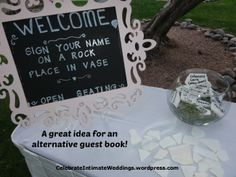 Another alternative for a Guest Book!