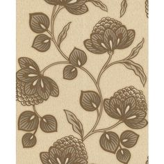 Graham & Brown Gold nadira wallpaper ($33) ❤ liked on Polyvore featuring home, home decor, wallpaper, home & furniture, floral pattern wallpaper, graham & brown, gold wallpaper, scroll wallpaper and gold home decor