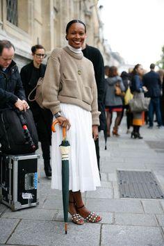 Paris Fashion Week #pfw #streetstyle #parisfashionweek