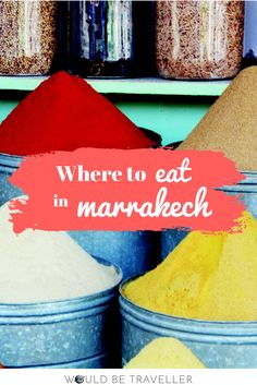 Marrakech is a bit of a foodie heaven. There's something for everyone from traditional food stalls, romantic dinners for two or palatial feasts punctuated with the flick of a belly dancer's hip.  Yet, with so much on offer, it can be hellishly difficult to decide where to go. I'm pleased to say all of the places listed below come with personal recommendation from my friends and work colleagues and, now that I've been there and tried them out, my own personal recommendation too.