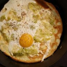 Serious Eats: Olive Oil Crepes With Leeks And Eggs Recipes Posted by Caraon Wednesday Jan 12th, 2011 | Print Crepes are as simple as pancakes, but so much more elegant, at least in the dinner hours. C...