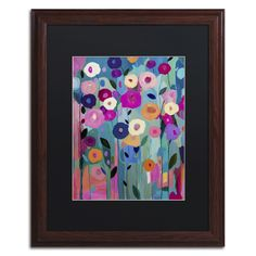 Nurture Your Soul by Carrie Schmitt Matted Framed Painting Print