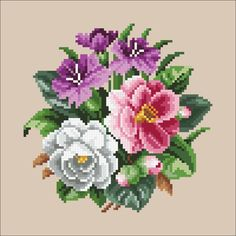 1 million+ Stunning Free Images to Use Anywhere Simple Cross Stitch, Cross Stitch Rose, Cross Stitch Borders, Cross Stitch Flowers, Cross Stitch Charts, Cross Stitching, Cross Stitch Patterns, Hand Embroidery Flowers, Hand Embroidery Stitches