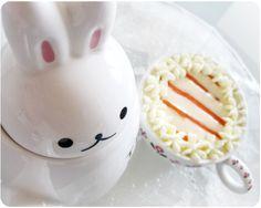 Tazas de Bizcocho de Zanahoria con Crema de Mascarpone Carrot cake cups with Mascarpone cream