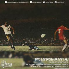 #IndependienteHistorico Fecha 31 del Metropolitano. En la Doble Visera, #Independiente golea a #ArgentinosJuniors