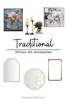 Traditional Dining Room Furniture, Traditional Dressers, Traditional Dining Tables, Traditional Mirrors, Traditional Bedroom Decor, Traditional Lighting, Traditional House, Decorating On A Budget, Diy Home Decor