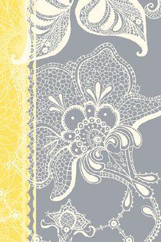 New a Rosenstiel:  Wild Lace I by Ingrid Van Den Brand