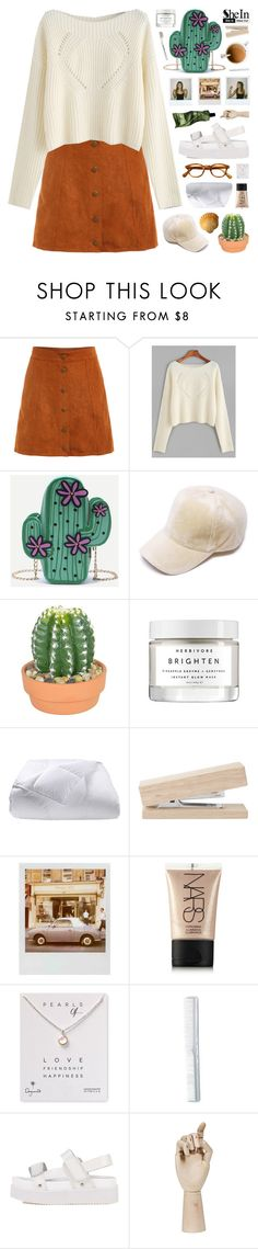 """SheIn"" by novalikarida ❤ liked on Polyvore featuring The French Bee, Herbivore, Phoenix Down, Polaroid, NARS Cosmetics, Dogeared, HAY, Aesop, Sheinside and shein"
