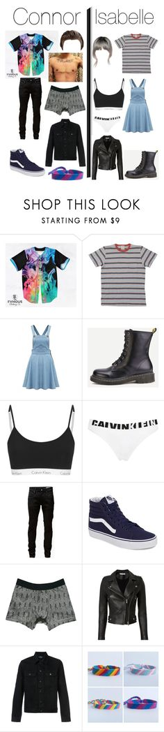 """""""Connor and Isabelle"""" by llamapoop ❤ liked on Polyvore featuring Calvin Klein Underwear, Jack & Jones, Vans, Zara, IRO and A.P.C."""