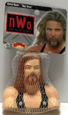 "(TAS035391) - 1999 ALPI nWo WCW Wrestling Squeezies - Kevin Nash ""Big Sexy"""