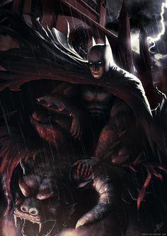 Batman by YuSePe