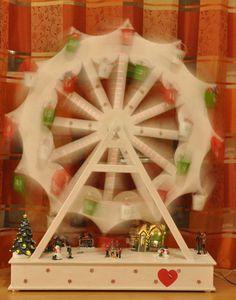 Riesenrad als Adventskalender Bauanleitung zum selber bauen