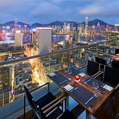 Harlan's - Overlooking the stunning Victoria Harbour, the 200-seat, contemporary-styled restaurant is a great place for a hearty dinner.