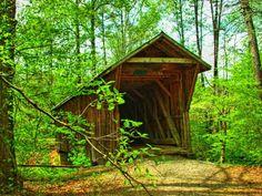 Bunker Hill Covered Bridge,  Catawba County, NC
