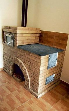 Sustainable Building Design, Brick Bbq, Backyard Fireplace, Model House Plan, Pizza Oven Outdoor, Home Design Floor Plans, Built In Grill, Rocket Stoves, Summer Kitchen