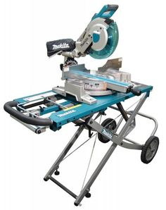 Woodworking Miter Saw Makita releases a miter saw stand, model to accommodate their new miter saw. Woodworking Saws, Woodworking Techniques, Wooden Work Bench, Carport Sheds, Stand Power, Miter Saw Reviews, Mitre Saw Stand, Piano, Compound Mitre Saw