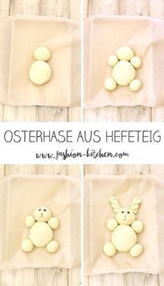 cute Easter bunny made of yeast dough - Fashion Kitchen- süßer Osterhase aus Hefeteig – Fashion Kitchen Easter bunny made of yeast dough, step by step instructions, … - Cute Easter Bunny, Happy Easter, Bunny Bunny, Easter Recipes, Dessert Recipes, Pancake Recipes, Desserts Ostern, Cute Baking, Cute Food